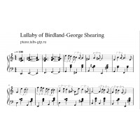 Lullaby of Birdland - George Shearing