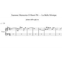 Summer Memories O Henri Pfr - La Belle Mixtape